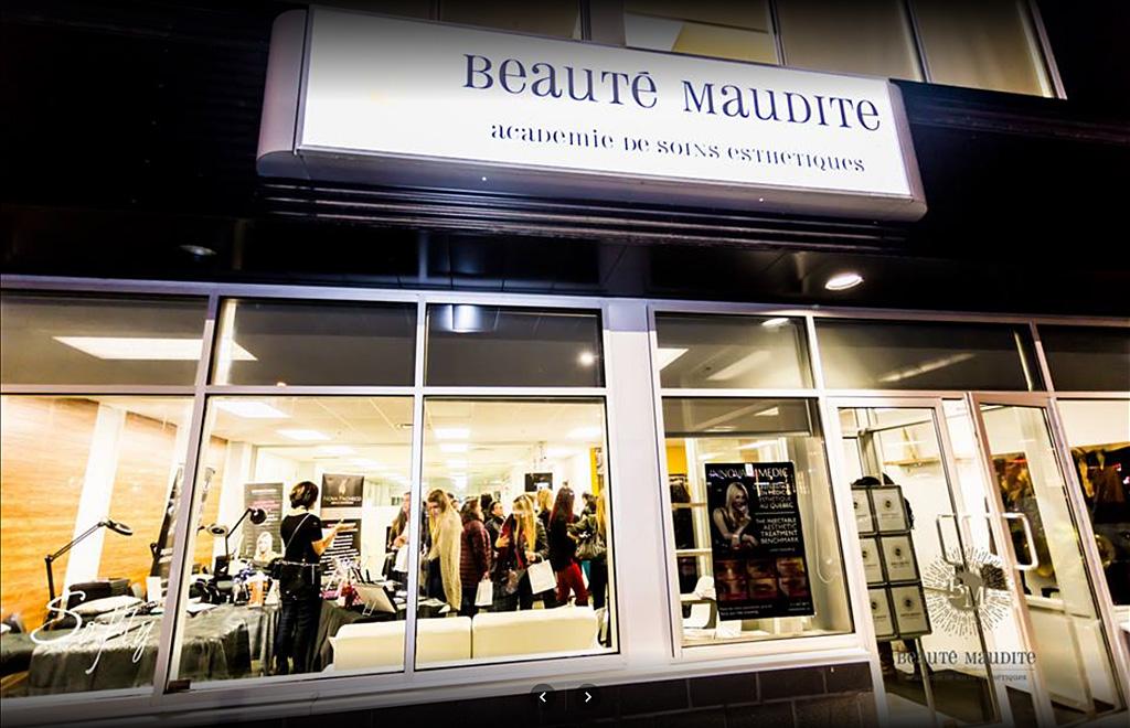 Salon d 39 esth tique spa beaut maudite votre centre d for Salon de coiffure venissieux centre